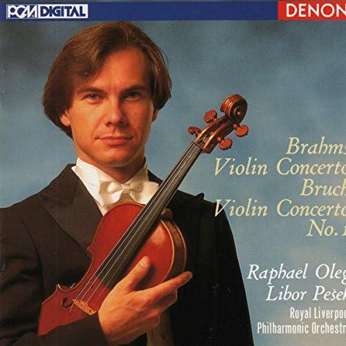 Raphael Oleg, Libor Pesek & Royal Liverpool Philharmonic Orchestra