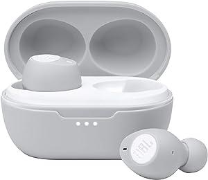 JBL T115 True Wireless in-Ear Headphone - White (JBLT115TWSWHTAM)