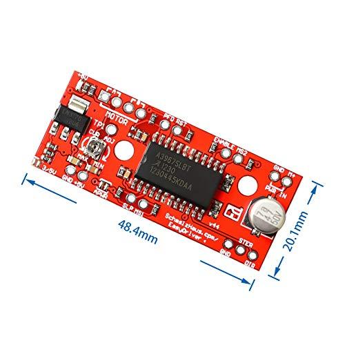 DIYUKMALL A3967 EasyDriver Stepper Motor Driver V44 for arduino Development Board 3D Printer A3967 Module