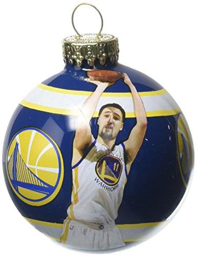Enfeite de Natal com imagem de Klay Thompson Golden State Warriors