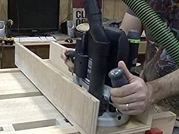 Flattening Workbenches and Wide Boards with a Router