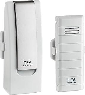 TFA Dostmann Weatherhub starterset met temperatuurzender, 31.4001.02, SmartHome, eenvoudig te installeren