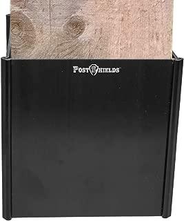 6x6 post sleeve black