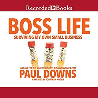 Boss Life audiobook cover art