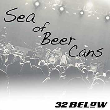 Sea of Beer Cans