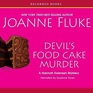 Devil's Food Cake Murder audiobook cover art