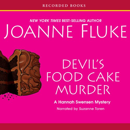Devil's Food Cake Murder audiobook cover art