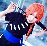 Sunny-business Anime Long Silver Soul Gintama Kamui Orange of Cosplay Wig