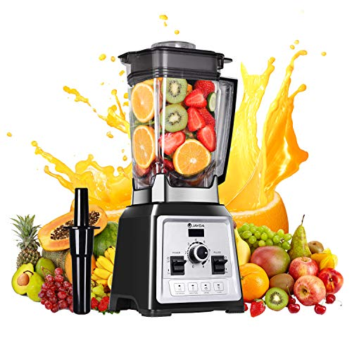 Blender Smoothie Blender, 1450W Professional Countertop Blender for Shakes and Smoothies,Built-in Pulse 10-speeds Control& 4 pre-programmed,Smoothie Maker for Puree, Ice Crush, Shakes and Smoothies,Self-Cleaning,68 Oz Container,32000 RPM
