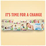Cuties Complete Care Baby Diapers, Size 1, 48 Count