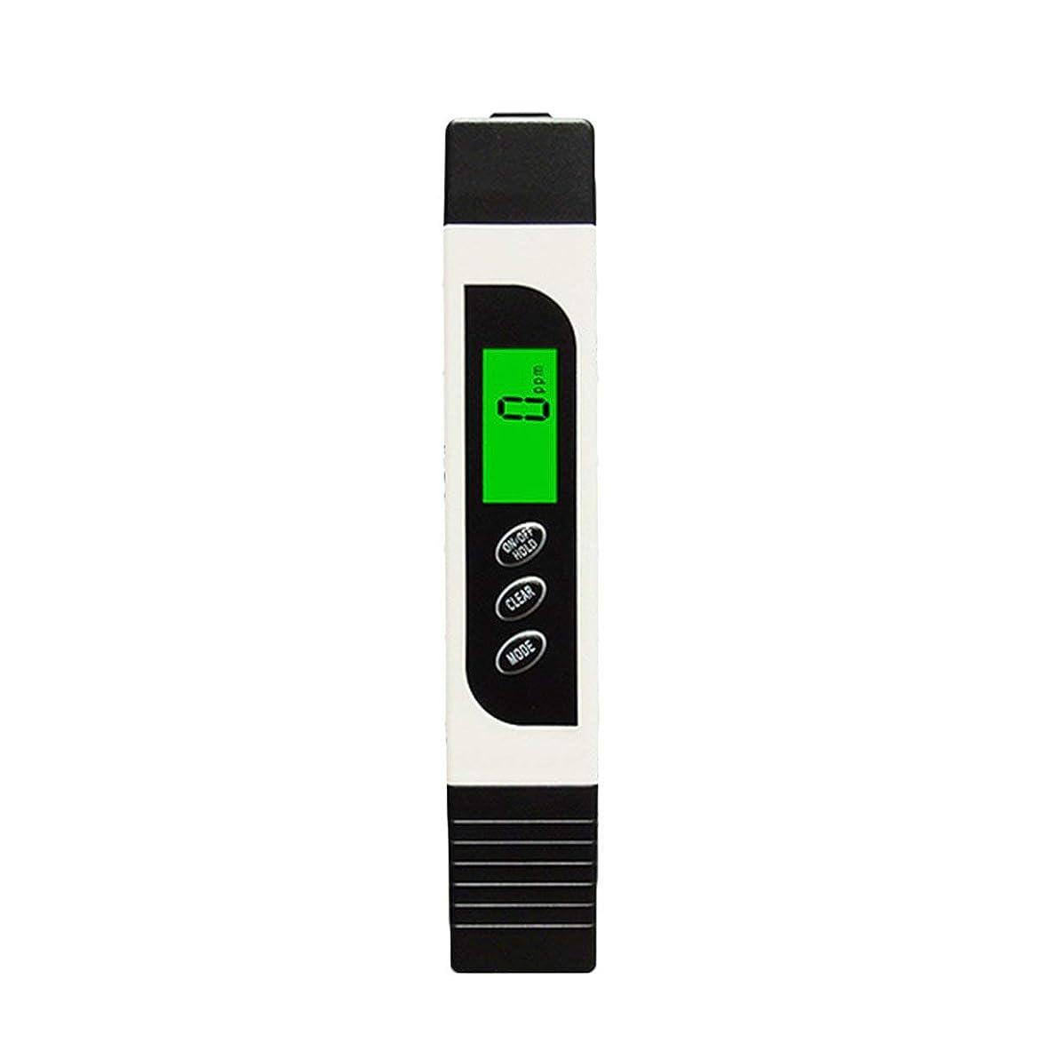 柱着替える勤勉な多機能TDSメーターテスターポータブルデジタルペン0.01高精度フィルター測定水質純度テストツール - ホワイト