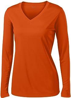 Joe`s USA - Ladies Long Sleeve Moisture Wicking Athletic Shirts Sizes XS-4XL
