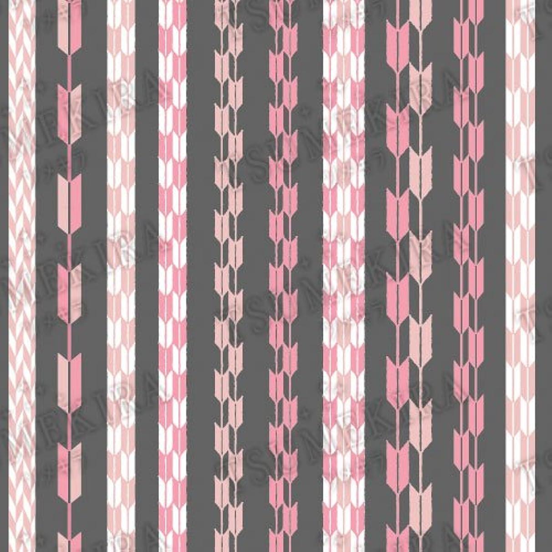 五月統治するキャンバスツメキラ ネイル用シール スタンダードスタイル 矢餅 ピンク