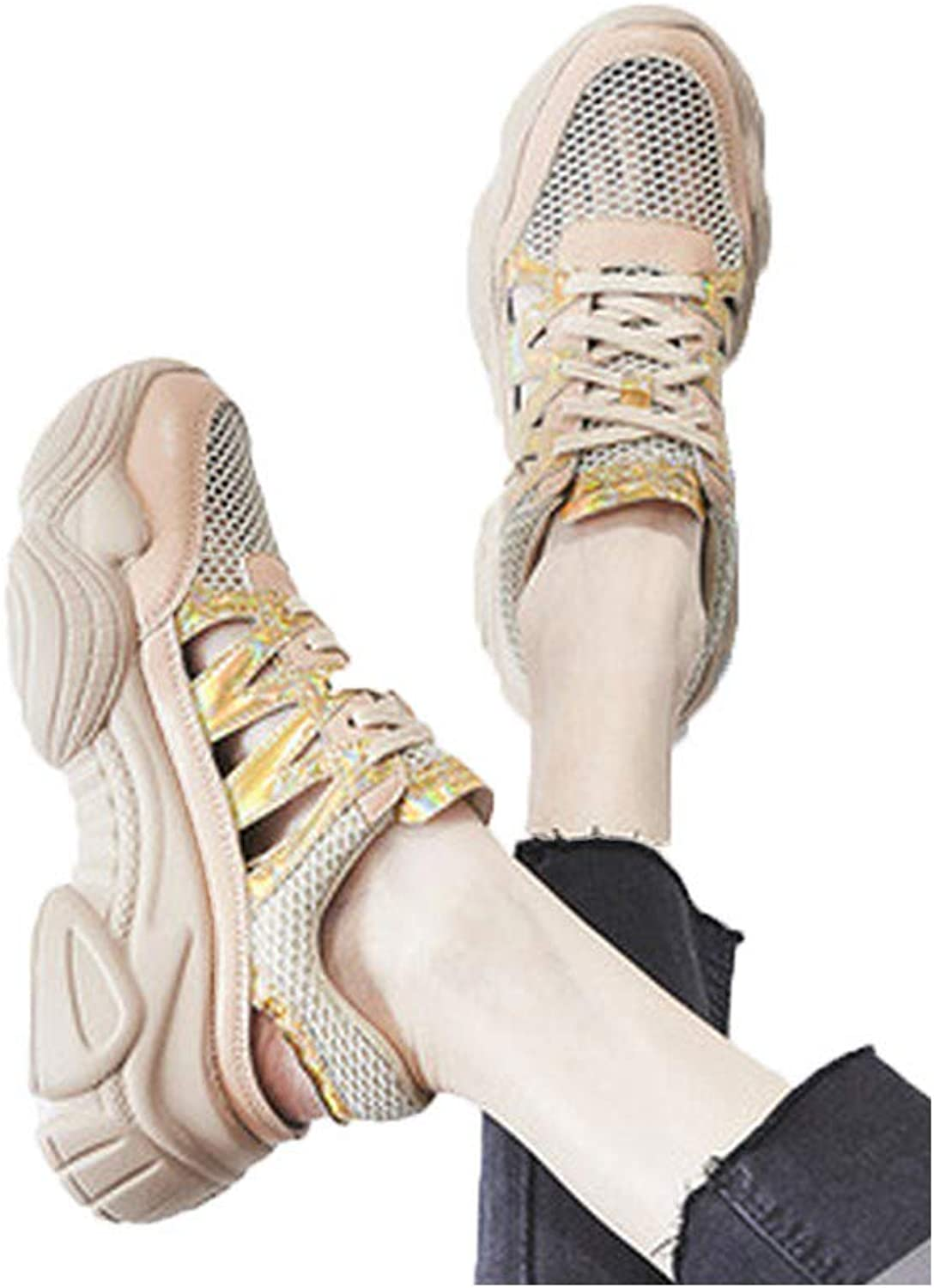 KUUI Sneakers for Women - Sneakers Lace Up shoes, Best for Casual and Daily Wear
