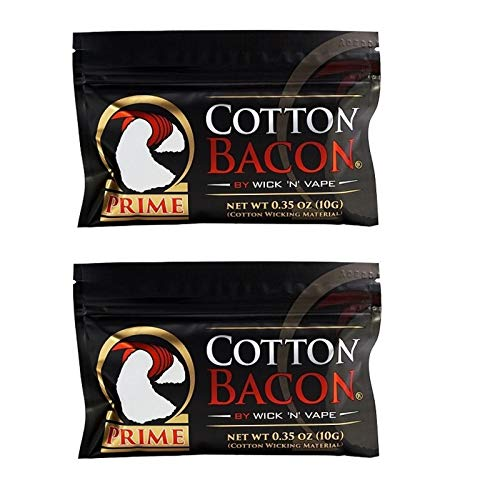 Wick 'n' Vape Cotton Bacon Prime 3 Packungen
