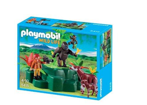 Playmobil 5415 - Gorilla e Okapi sulla Collina