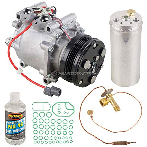 For Honda Civic & CR-V OEM AC Compressor w/A/C Repair Kit - BuyAutoParts 60-83270RN NEW