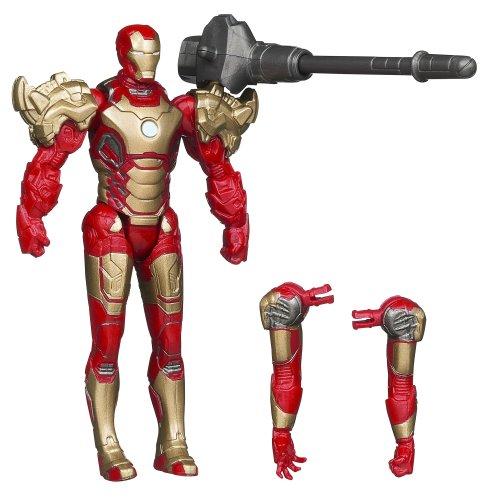 Hombre De Hierro De Marvel 3 Ensamblador -Mark 42 Iron Man [Importado De GB