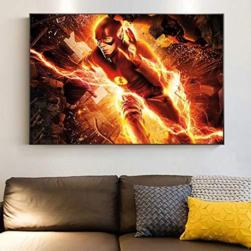 KWzEQ Leinwanddrucke Anime Held für Artworkon Posterhome Dekor Wohnzimmer70x105cmRahmenlose Malerei