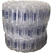 Uline Industrial Air Pillows (330 Count) Pre-Filled by Blubonic Industries, 8 x 4 in (7 x 4 inflated), 42 gal, 6.5 cu ft, Shipping Packing Package Cushioning Airbags