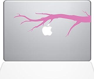 "The Decal Guru Tree Branch Macbook Decal Vinyl Sticker  - 15"" Macbook Pro (2016 & newer) - Pink (1191-MAC-15X-BG)"