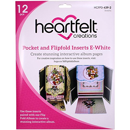 Heartfelt Creations Pocket and Flip-Fold Inserts, Multi-Colour, 31.59 x 31.19 x 0.05 cm