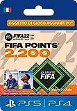 FIFA 22 Ultimate Team - 2200 FIFA Points | Codice download per PS4/PS5 - Account italiano