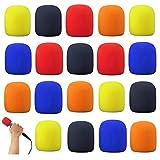 20 filtri colorati per microfono, microfono, parabrezza, per interviste, studio, karaoke, DJ