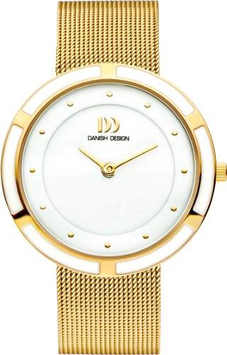 Women'Danish Design Dameshorloge Analoog Roestvrij staal Goud DZ120306 Armband verguld