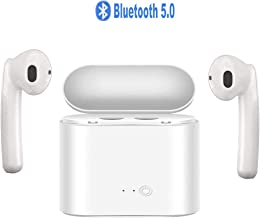 Wireless Earbuds Bluetooth Headphones Bluetooth 5.0 Stereo Sound Wireless Headphones with...