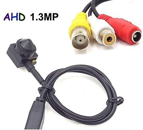 CNDST Cctv Hd AHD 720P Mini Spy Pinhole Security Camera 3.6mm 90degree Mini Hidden Cctv Surveillance Camera