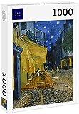 Lais Puzzle Vincent Willem Van Gogh - Café Terrace at Night 1000 Piezas