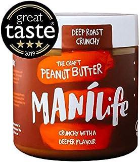 Manilife Deep Roast Peanut Butter Jar, Smooth 295 g