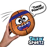 Move2Play Talkin' Sports, Hilariously Interactive Toy Basketball with Music and Sound FX for Kids and Toddlers