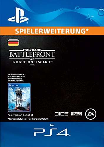 Star Wars Battlefront Rogue One: Scarif Edition DLC [PS4 Download Code - deutsches Konto]