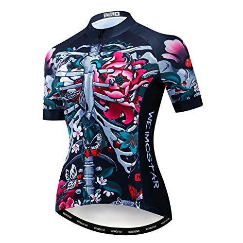 Maillots de ciclismo para mujer, ropa de bicicleta de montaña, camiseta de...