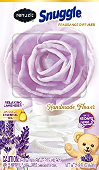 Renuzit Snuggle Fragrance Diffuser Handmade Flower Relaxing Lavender 1 Count