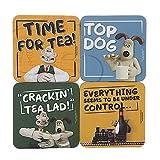 Wallace & Gromit - Juego de 4 posavasos