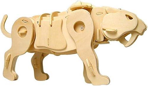 CHEN FU ZHANG Klassisches Dinosaurier-Spielzeug Tyrannosaurus Rex Kinder Lernpuzzle Zauber Einlage Spielzeug EinheitsGröße Stil 5