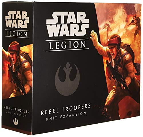 Fantasy Flight Games FFGSWL05 Star Wars: Legion Rebel Troopers Unit, Multicolor
