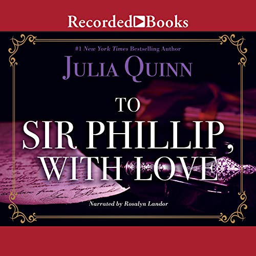 Couverture de To Sir Phillip, with Love