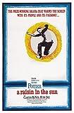 Posterazzi A Raisin In The Sun Us Art Sidney Poitier 1961. Movie Masterprint Poster Print, (24 x 36)