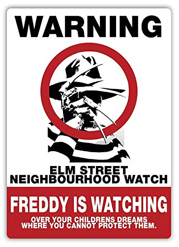 BIT TIBB Ulm Neighbourhood Watch Metall Wand Blechschild New Living Aluminium Plakette Poster Nostalgie Kunst Dekoration 20,3 x 30,5 cm