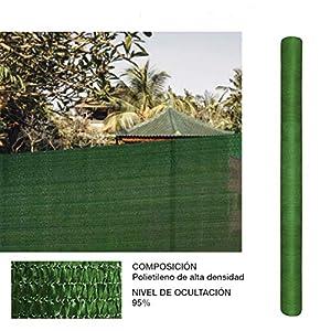 Comercial Candela Rollo de Malla de sombreado Verde 1x10 Metros