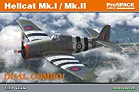 エデュアルド 1/72 プロフィパック イギリス海軍 ヘルキャット Mk.1/Mk.2 Dual Combo プラモデル EDU7078