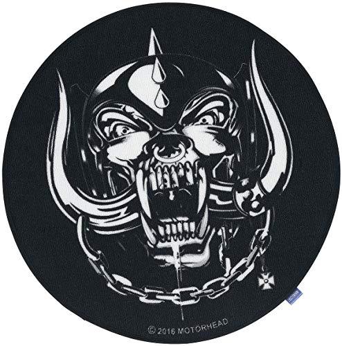 for-collectors-only Motörhead tapijt Warpig Skull logo voetmat XXL Carpet 100 cm diameter