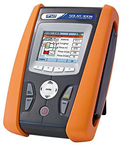 HT-Instruments Kontroll mit Analysegerät für 1 und 3 Phasen Photovoltaikanlagen, Solar 300N