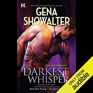 The Darkest Whisper audiobook cover art