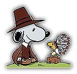 valstick Peanuts Cartoon Snoopy Detective Car Bumper Sticker Decal