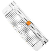 Firbon cortadora de papel titanio 12 inch A4 cortador con automático Seguridad Safeguard (Blanco)